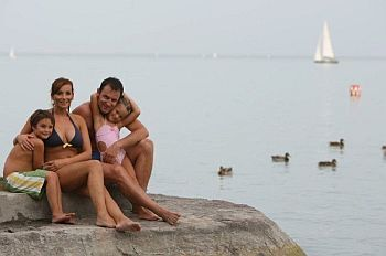 Beach at Lake Balaton - Balatonfured - Hotel Marina