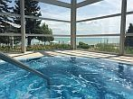 Affordable wellness hotel in Balatonkenese with panorama