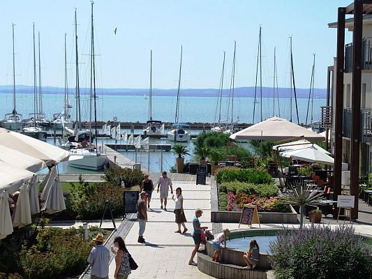 Yacht Harbor at Wellness Hotel Silverine Balatonfured