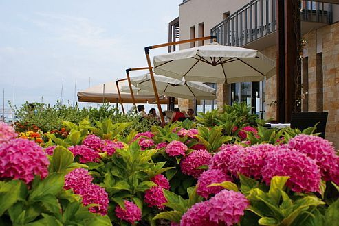 Silverine Wellness Hotel restaurant at Lake Balaton for wedding