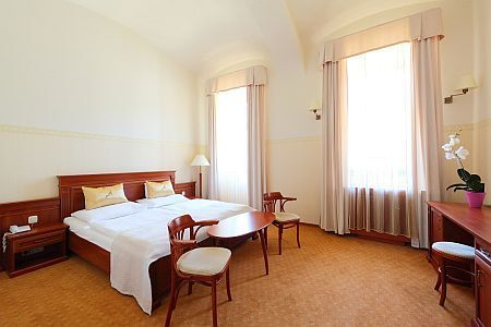 4* Anna Grand Hotel Balatonfured double room with balconie