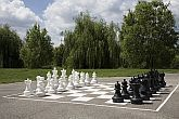 Zichy Park Hotel in Bikacs - Outdoor chess in park area of Zichy Park Wellness Hotel