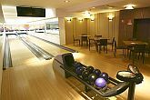 Bowling in Vital Hotel Nautis on the shore of Lake Velence