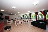 Hotel Napfeny offers staying with half board in Balatonlelle