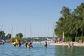 Hotel Club Aliga with discount offers at Lake Balaton, with the most beaufital beach at Balaton